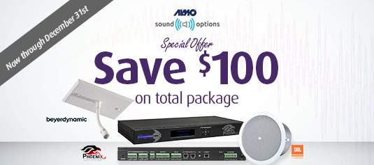 SPECIAL OFFER: All-in-1 Audio System