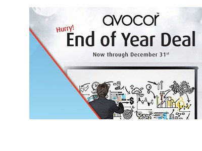 Hurry! End of Year Deal on Avocor