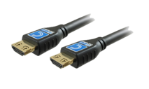 Comprehensive - HD18G-6PROBLK Pro AV/IT Certified 18Gb 4K High Speed HDMI Cable with ProGrip 6ft