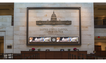 Case Study: Planar LED Video Wall Welcomes and Educates Capitol Visitors