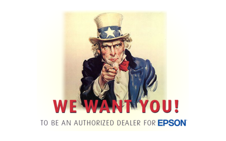 Become and Registered Epson Dealer