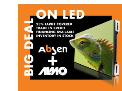 Absen: BIGGEST LED deal EVER