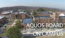 Case Study: Caldwell University Uses AQUOS BOARD™ Interactive Display Systems to Enhance Learning
