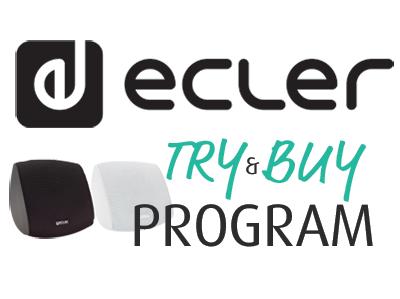 Ecler Try & Buy Program