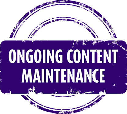 Ongoing Content Maintenance