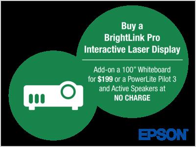 Epson BrightLink End-User Promotion