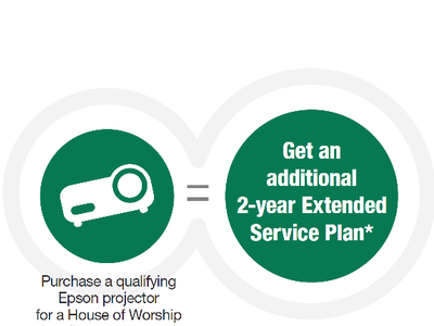 Extended Service Plan on Qualifying Epson HoW Projector