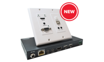 Comprehensive - HDBaseT 4K 18G Wall Plate
