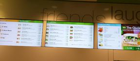 Case Study: Digital Menu Board Installation