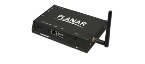 Planar's ContentSmart™ MP70 is an Ultra HD media player featuring ContentSmart software for easy-to-design digital signage content.