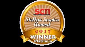 Almo Wins Platinum SCN Stellar Service Award