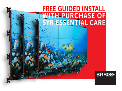 Barco - FREE Guided Install with purchase of 5yr Essential Care