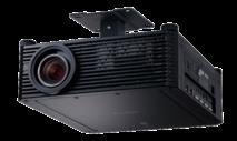 Non-interchangeable lens projectors